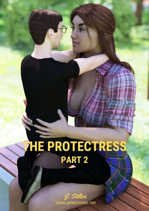 The Protectress - part 2 - female bodybuilder