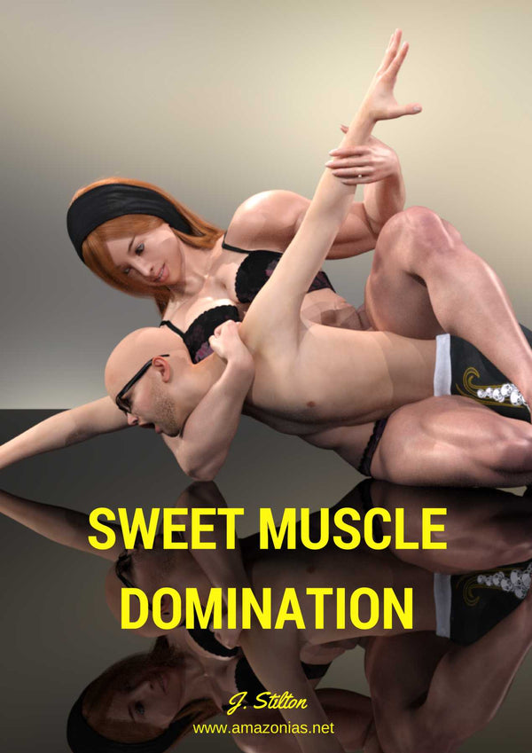Sweet Muscle Domination - female bodybuilder