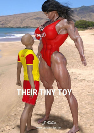 Their Tiny Toy - female bodybuilder
