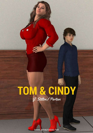 Tom and Cindy - female bodybuilder