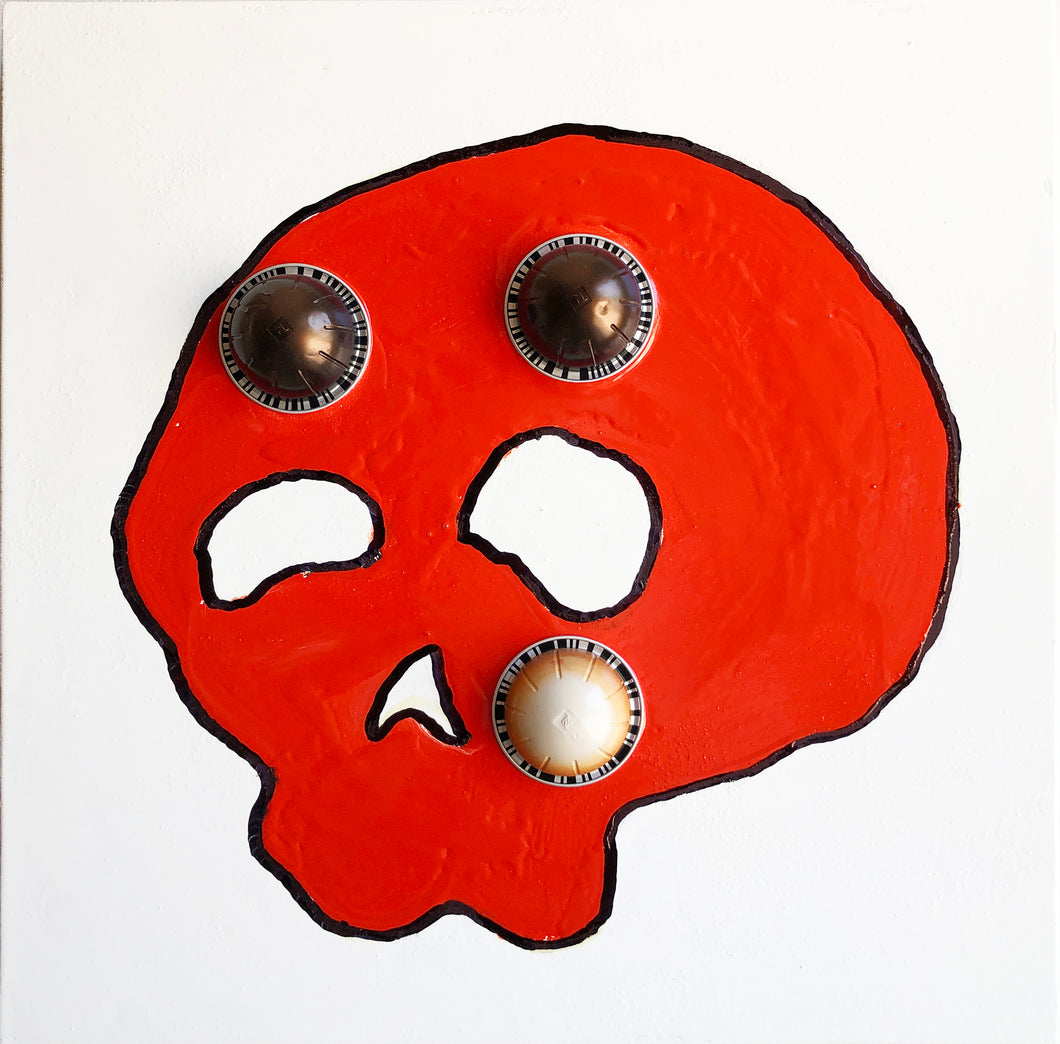 Tibor Hargitai BLIND AS A SKULL pandemic art