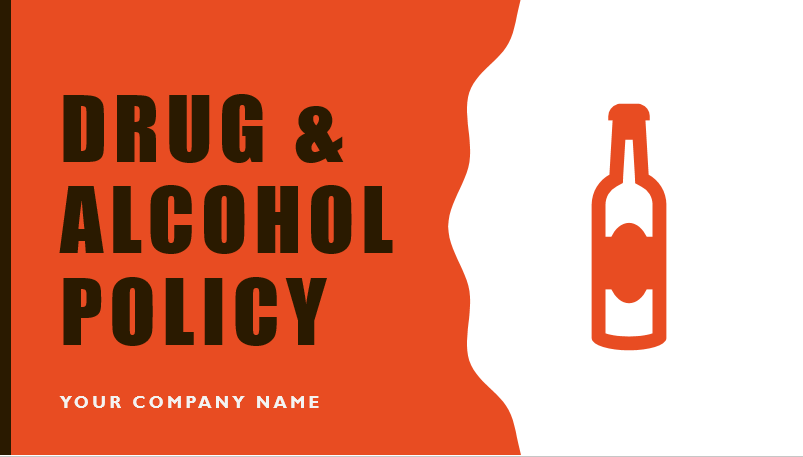 Drug & Alcohol Policy Safety Meeting