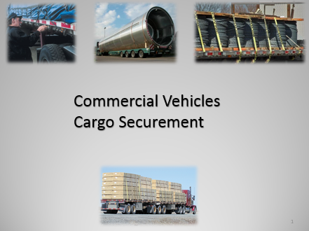 Commercial Vehicles Cargo Securement