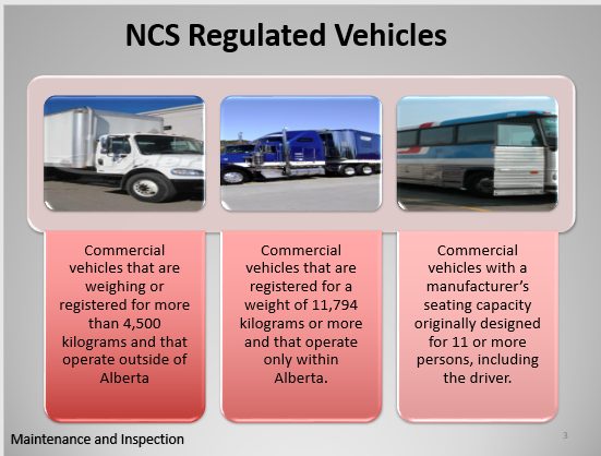 Commercial Vehicles Maintenance and Inspection