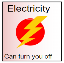 Electricity - Hard Hat Sticker