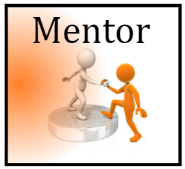 Mentor - Hard Hat Sticker