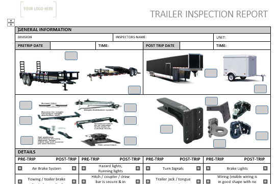 Trailer Pre Use Inspections