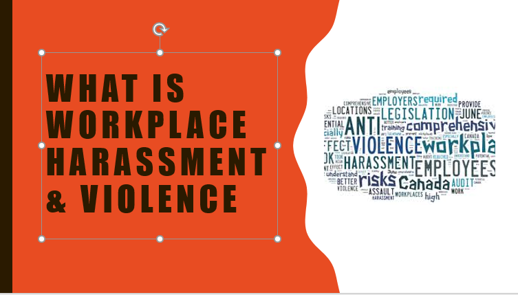 Workplace Violence & Harassment Safety Meeting