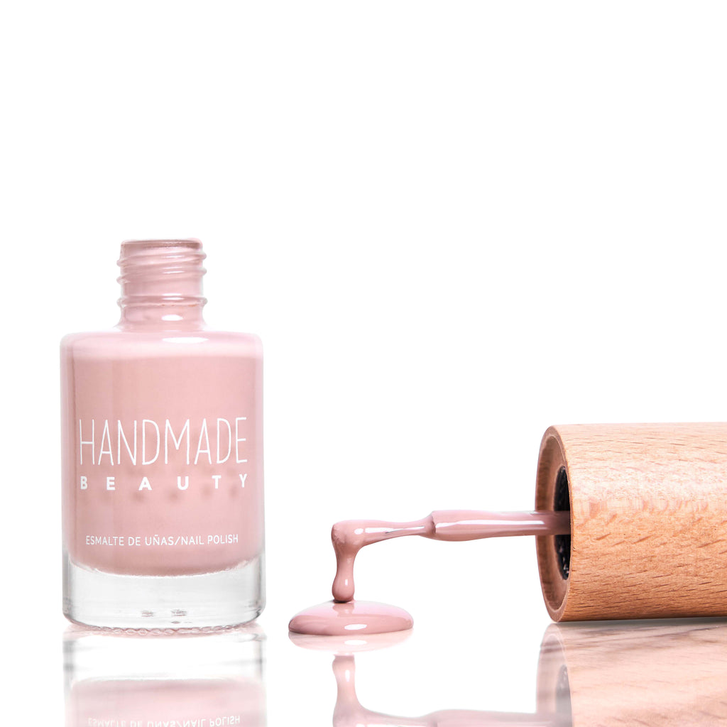 Nail Polish Non Toxic Color Rose - Handmade Beauty