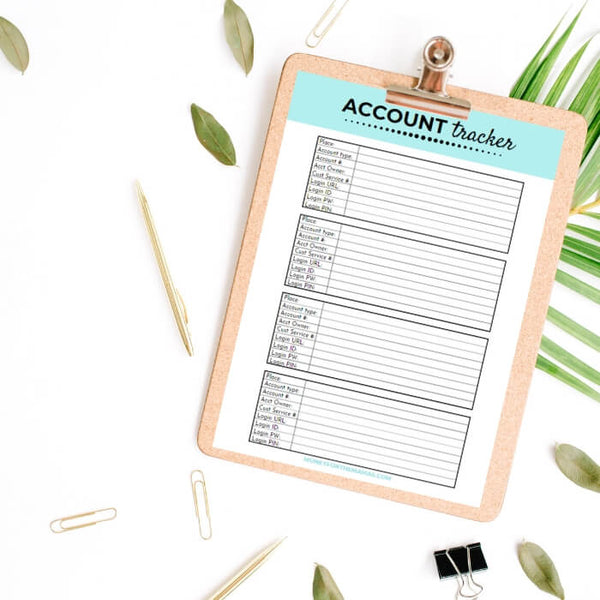 account tracker