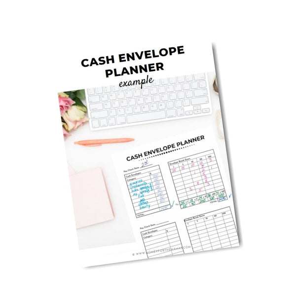 cash envelope planner