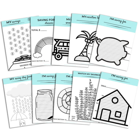 printable savings trackers