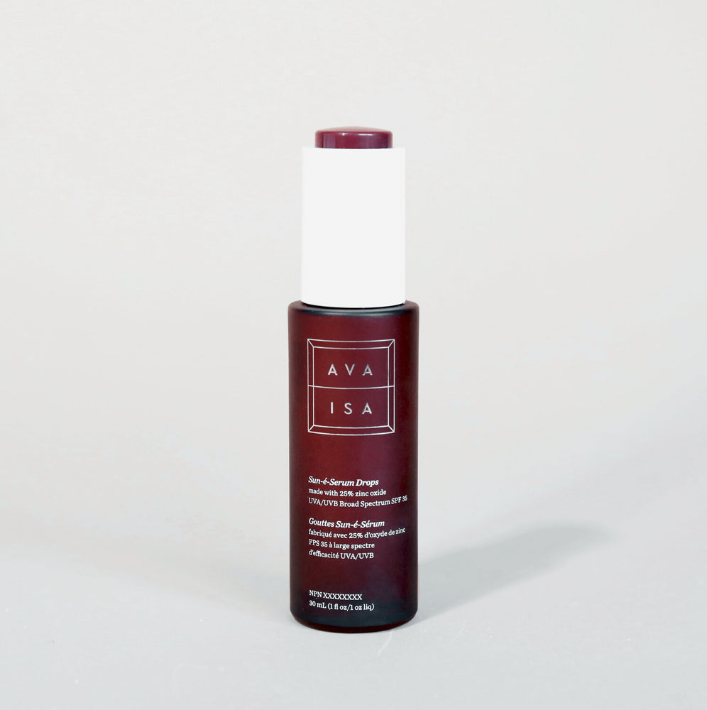 Ava Isa Sun-è-Serum Drops SPF 35 | Facial Sunscreen