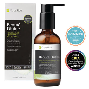 Corpa Flora Beauté Divine 4oz - Facial Cleansing Oil & Makeup Remover