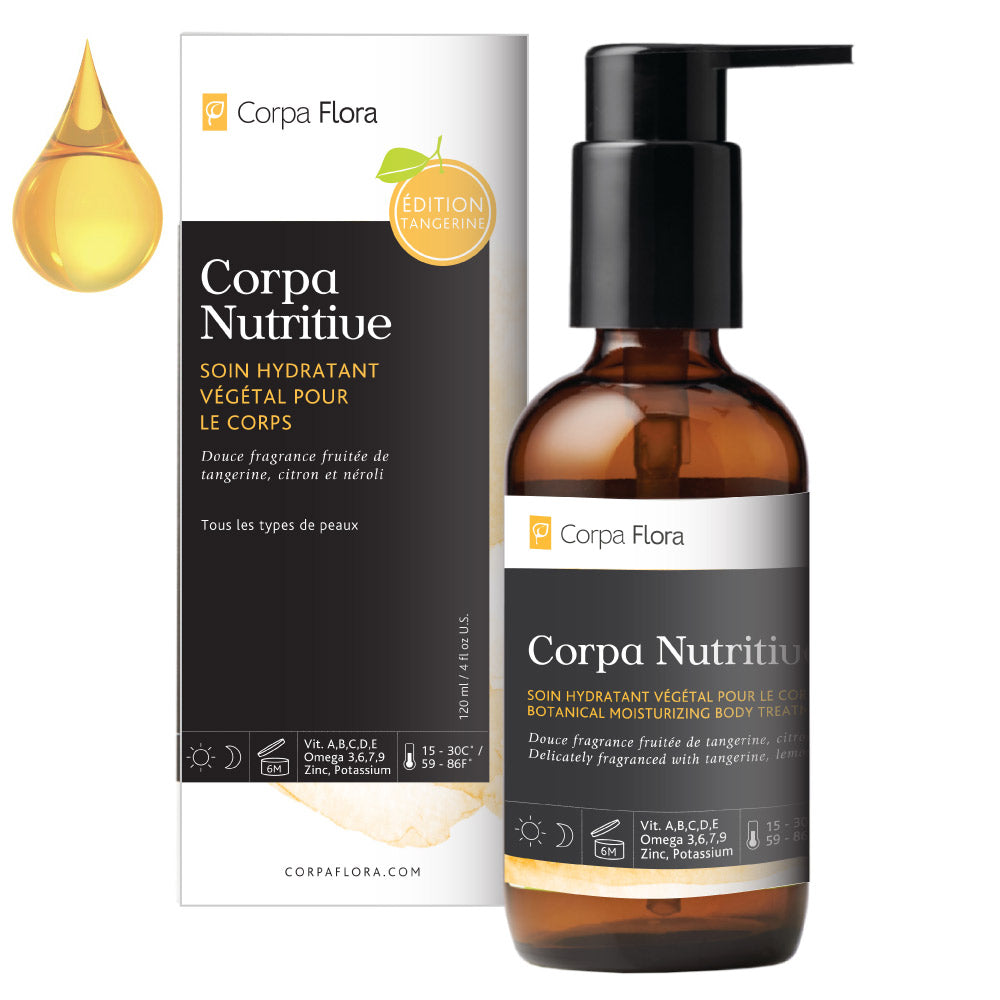 Load image into Gallery viewer, Corpa Flora Nutritive Tangerine Edition 4oz | Body Oil