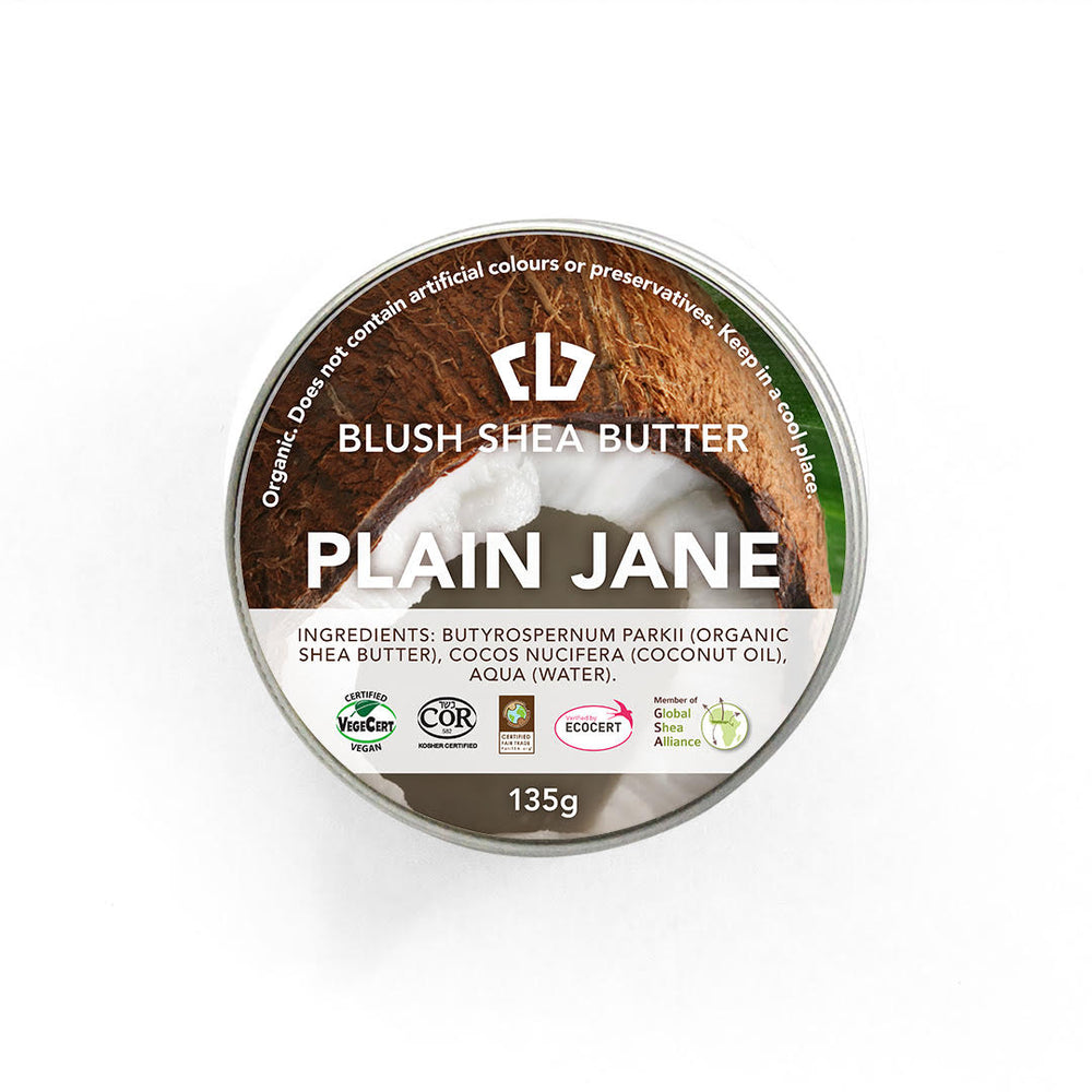 Blush Shea Butter Plain Jane Balm | Enticing Body Cream