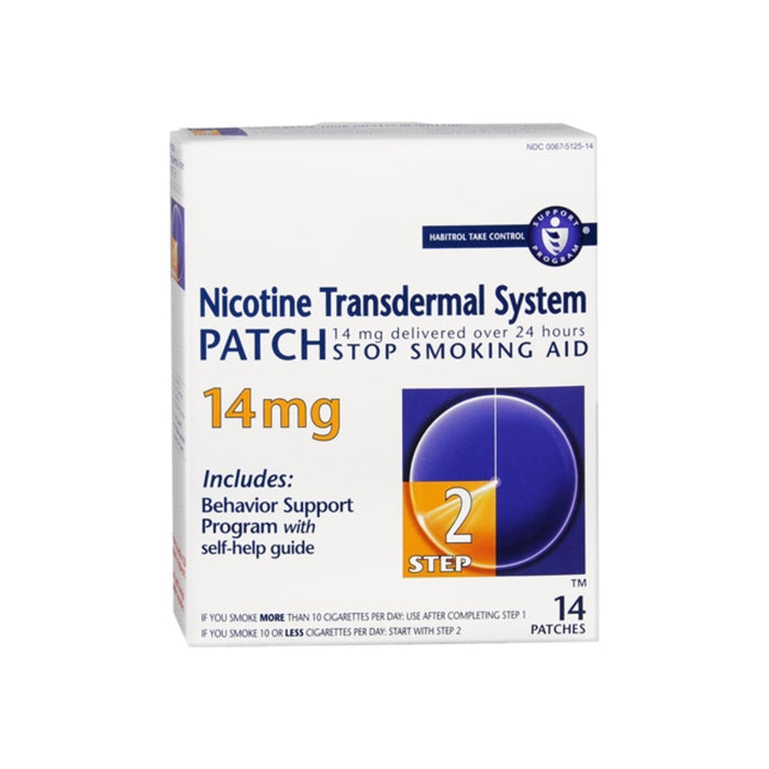 Novartis Nicotine Transdermal System Patch 14 mg [Step 2] 14 patches