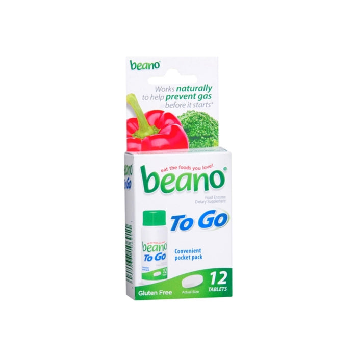 Beano To Go Tablets 12 Tablets