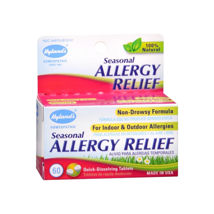 Hyland's Seasonal Allergy Relief Tablets 60 Tablets