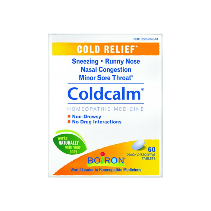 Boiron Coldcalm Quick-Dissolving Tablets 60 Tablets