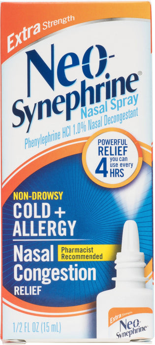 Neo-Synephrine Cold & Sinus Extra Strength Spray 0.50 oz