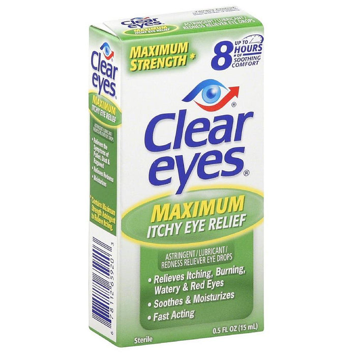 Clear Eyes Maximum Itchy Eye Relief 0.50 oz