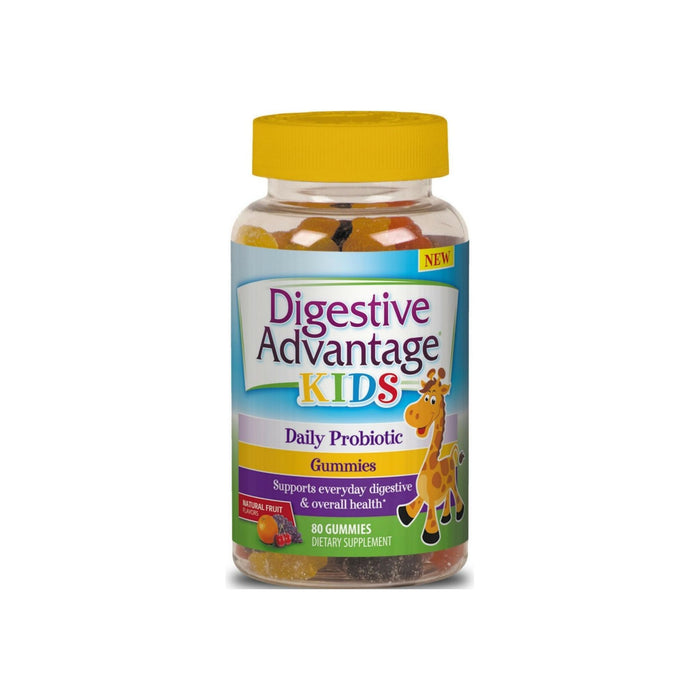 Digestive Advantage Kids Daily Probiotic Gummies, 80 ct