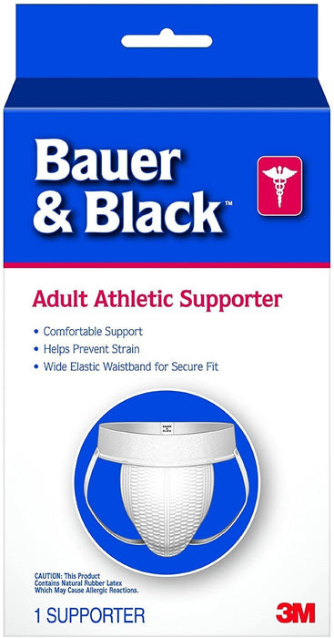 3M Bauer and Black A3 Adult Supporter, Large 1 ea