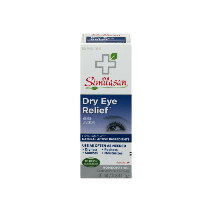 Similasan Dry Eye Relief Sterile Eye Drops 0.33 oz