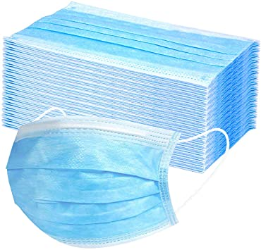 3ply Disposable Earloop Masks Bulk