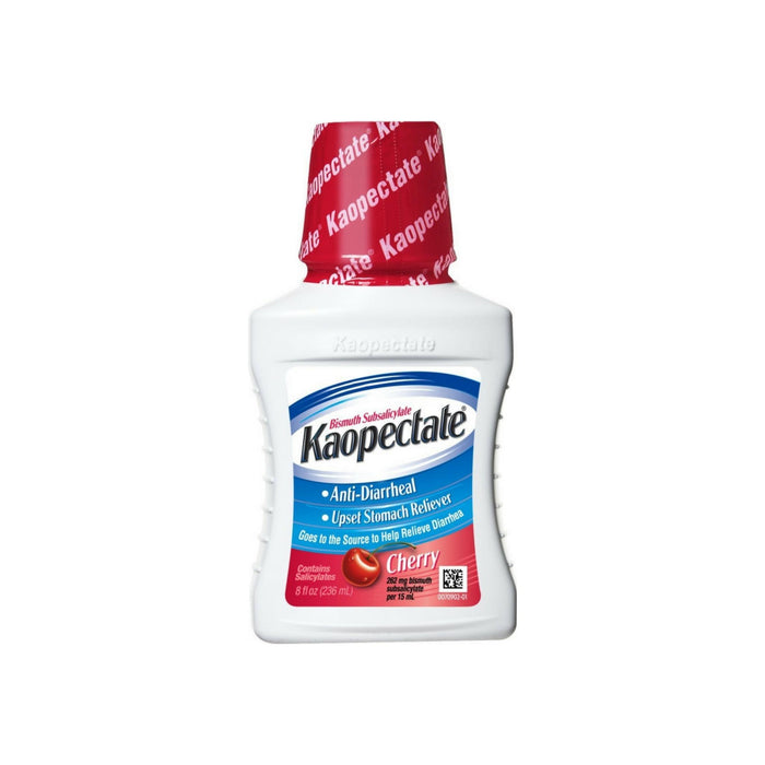Kaopectate Anti-Diarrheal Upset Stomach Reliever, Cherry 8 oz