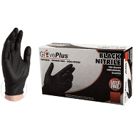 Nitrile Disposable industrial Gloves 100ct /Boxes BLACK