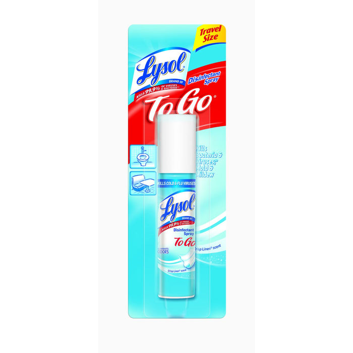 Lysol To Go (Travel Size) Disinfectant Spray 1oz *