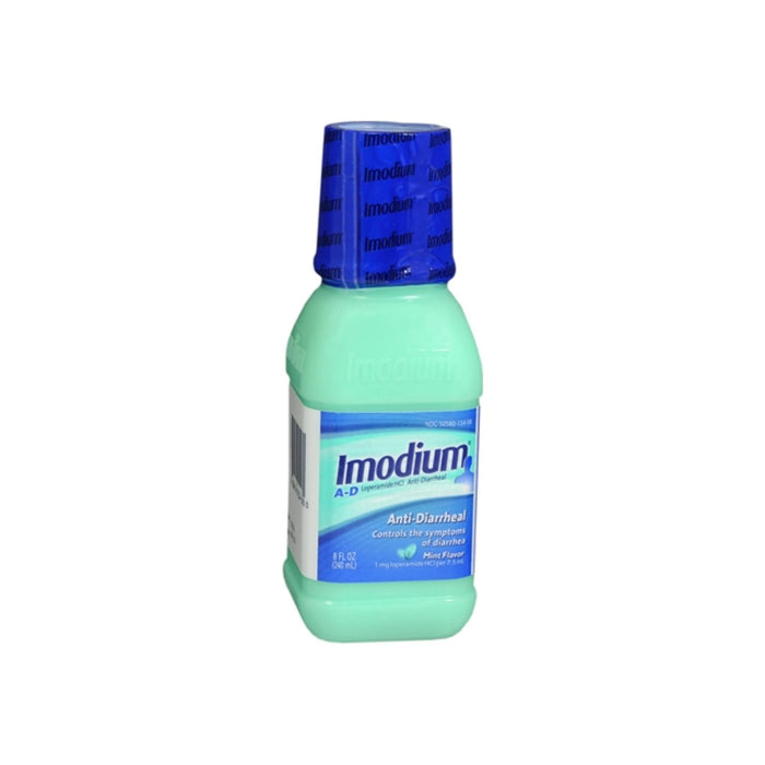 Imodium A-D Liquid Mint Flavor 8 oz