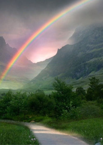 5. A POT OF GOLD AT THE END OF THE RAINBOW