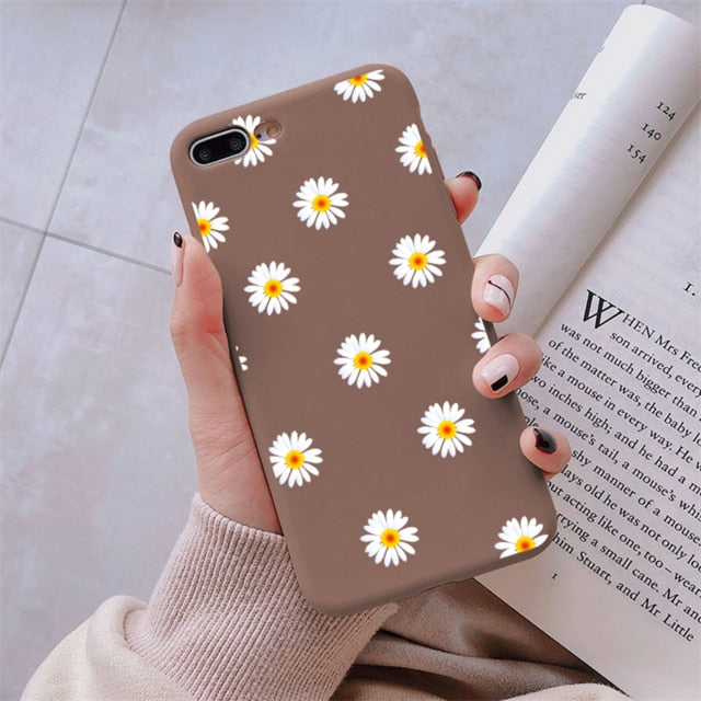 TPU Daisy Flower Cover For Samsung Galaxy A Series