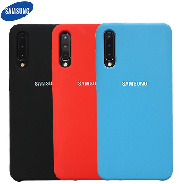 Original Liquid Silicone Soft Protection Back for Samsung