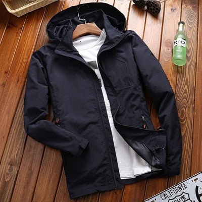 Overcoat Army Tactics Windbreaker -Jacket