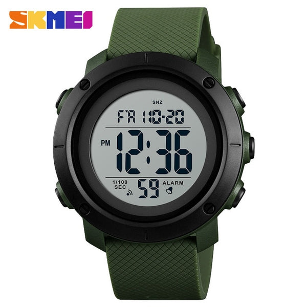 Luxury Sports Men Waterproof LED Digital Watch