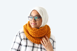Claire Infinity Scarf - Crochet Pattern