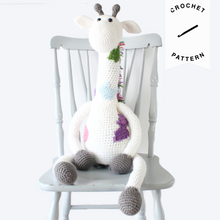 Load image into Gallery viewer, Jeremy the Giraffe  - Crochet Pattern