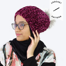 Load image into Gallery viewer, Juliet Beanie - Crochet Pattern