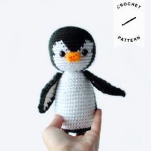 Load image into Gallery viewer, Penelope Penguin - Crochet Pattern