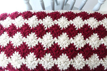 Load image into Gallery viewer, Fireworks Throw - Crochet Pattern