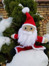 Load image into Gallery viewer, Santa Claus Plush - Crochet Pattern