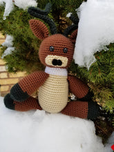 Load image into Gallery viewer, Comet the Reindeer Plush - Crochet Pattern