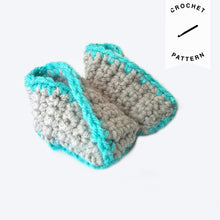 Load image into Gallery viewer, Kimono Baby Booties - Crochet Pattern