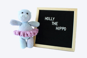 Holly the Hippo - Crochet Pattern
