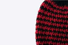 Load image into Gallery viewer, Houndstooth Beanie - Crochet Pattern