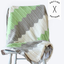 Load image into Gallery viewer, Rameez Baby Blanket - Knitting Pattern